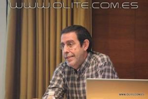 """Doctor D. Andoni Orube, en su conferencia """"La Mente y el Ajedrez"""""""