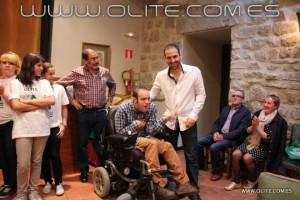 Fermín Arellano se llevó el aplauso del público tras ganar la partida a ciegas al maestro Internacional  Roi Reinaldo. Un momento emocionante, aunque a Roi no le guste nunca perder.