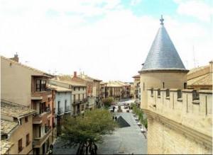 Plaza Carlos III El Noble de Olite